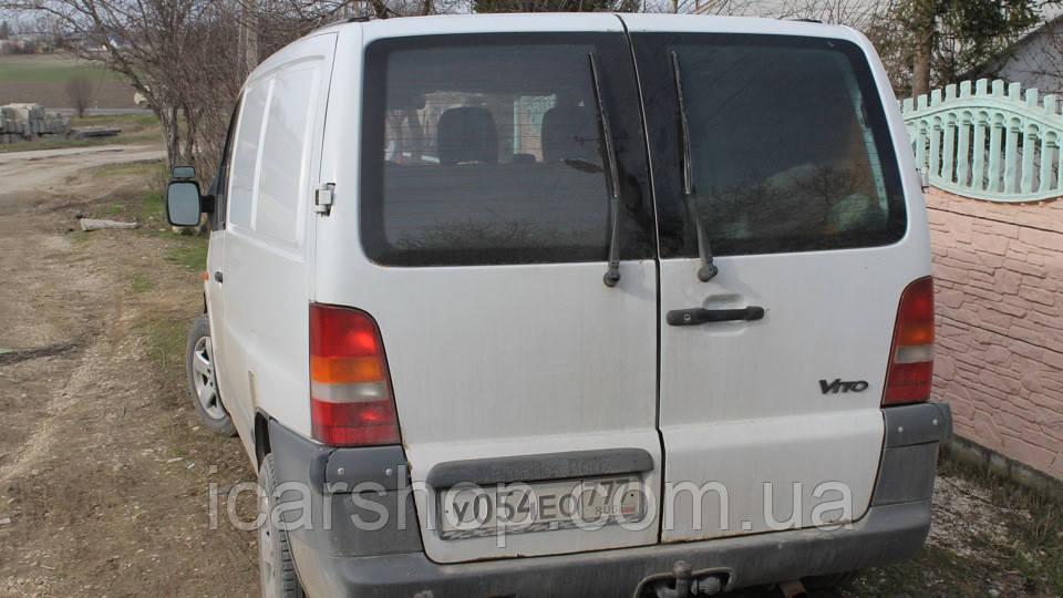 Скло Mercedes Vito I W638 96-03 тил лівий з електро обігрівачем LG