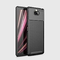 Чехол iPaky Kaisy Series для Sony Xperia 10 Plus (Черный)