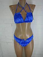 Жіночий купальник синій 3532