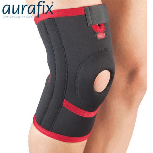 Неопреновый наколенник Aurafix 102 с 4 ребрами жесткости