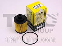 Фильтр масляный (вставка) TOKO FIAT Punto, Panda, Doblo Cargo, 500 T1136024