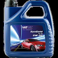 Моторное масло синтетика VatOil SynGold LL-II 0W30 ACEA A1/B1, A5/B5, VW 503.00/506.00/506.01 4L