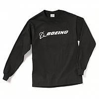 Оригинальный реглан Boeing Long Slv Signature T-shirt 1100100101880009 (Black), фото 1