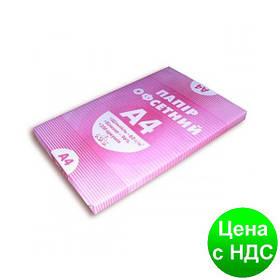 Папір А4, 60г/м2, 250 аркушів, офсетний A4.60.250