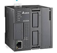 Базовый модуль контроллера AS300 Delta Electronics, 128K шагов программы, без вх//вых., 2xRS485, Ethernet
