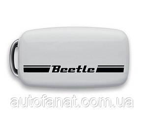 Оригинальный накладка на ключ Volkswagen Beetle Plastic Key Cover, White (5C0087012B)