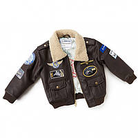 Дитяча льотна куртка Boeing Brown Aviator Jacket 330030070028 (Brown)