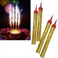 Свечи в торт фейерверк 10 см (6 шт/уп)