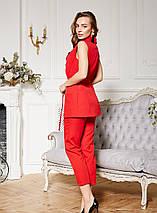 Женский летний костюм двойка жилет и брюки /разные цвета, 42-52р., sh-005/, фото 2