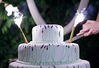 Свечи в торт фейерверк 15 см (6 шт/уп)
