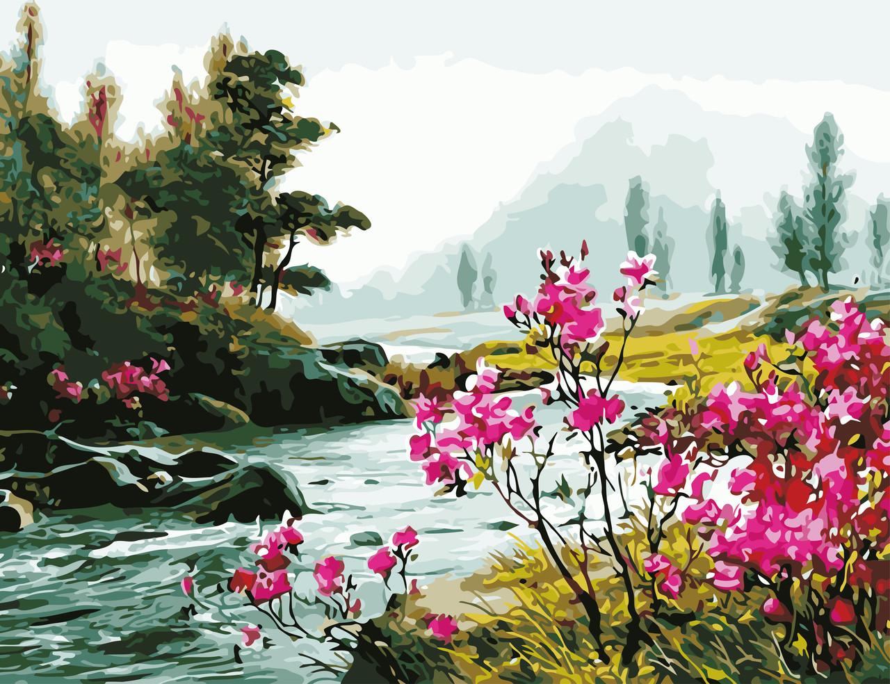 Рисование по номерам Красота природы ArtStory AS0621 50 х 65 см