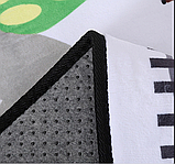 """Бесплатная доставка! Ковер в детскую  """"Машинки на дороге""""  утепленный коврик (1.45*1.95 м), фото 6"""