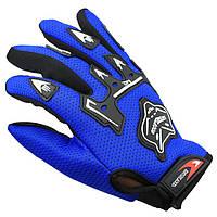 Перчатки Foxhead велосипедные мужские велоперчатки Blue