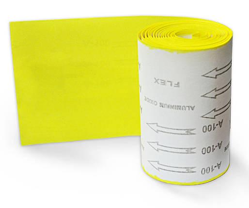 Бумага наждачная Spitce бумажная основа Р100 115 мм х 5 м (18-583), фото 2