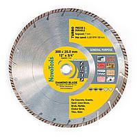 Диск алмазный по бетону 300х7х20 NovoTools Standard