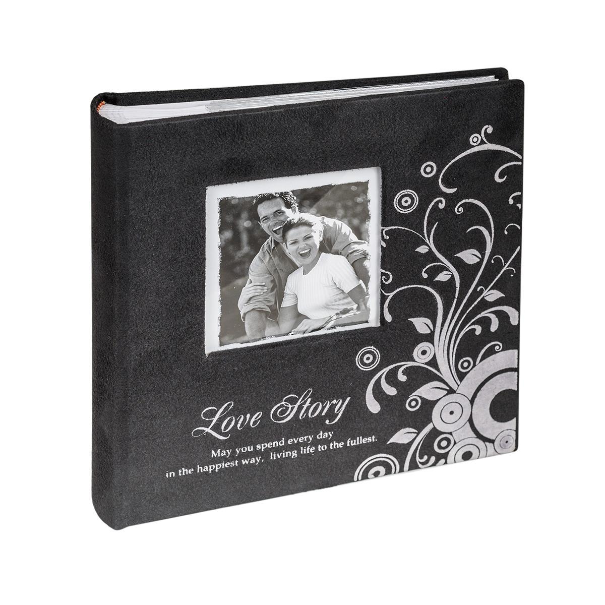 Альбом CHAKO 10*15/200 PC-46200RCK Lovestory Delux черный