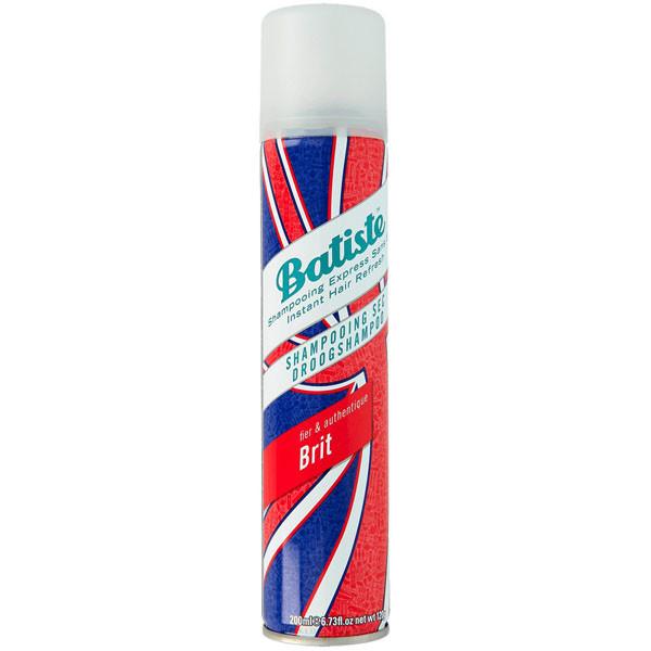 Сухой шампунь с цветочным ароматом Batiste Dry Shampoo Brit Fier & Authentique 200 мл