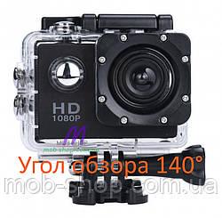 Спортивна екшн камера Action Camera A7 для туризму і розваг великий набір кріплень