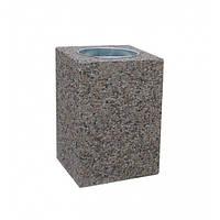 Урна для мусора бетонная Куб (28л)