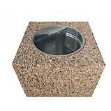 Урна для мусора бетонная Куб (28л), фото 6