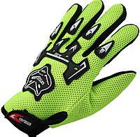 Перчатки Foxhead велосипедные мужские велоперчатки Green
