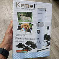 Машинка для стрижки собак и животных Kemei KM-017