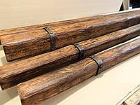 Балка под дерево 100 х 50 мм / фальш-балка / декоративная балка / полиуретановая балка аналог