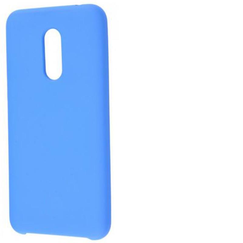 Силиконовый чехол Soft cover для Xiaomi Redmi 5 Голубой / Lilac Blue