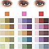 Варианты подбора теней под свой цвет глаз