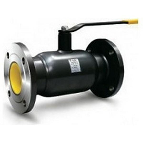 Кран шаровый стальной фланцевый полнопроходной КШЦФ Ру25 Ду250 с редуктором