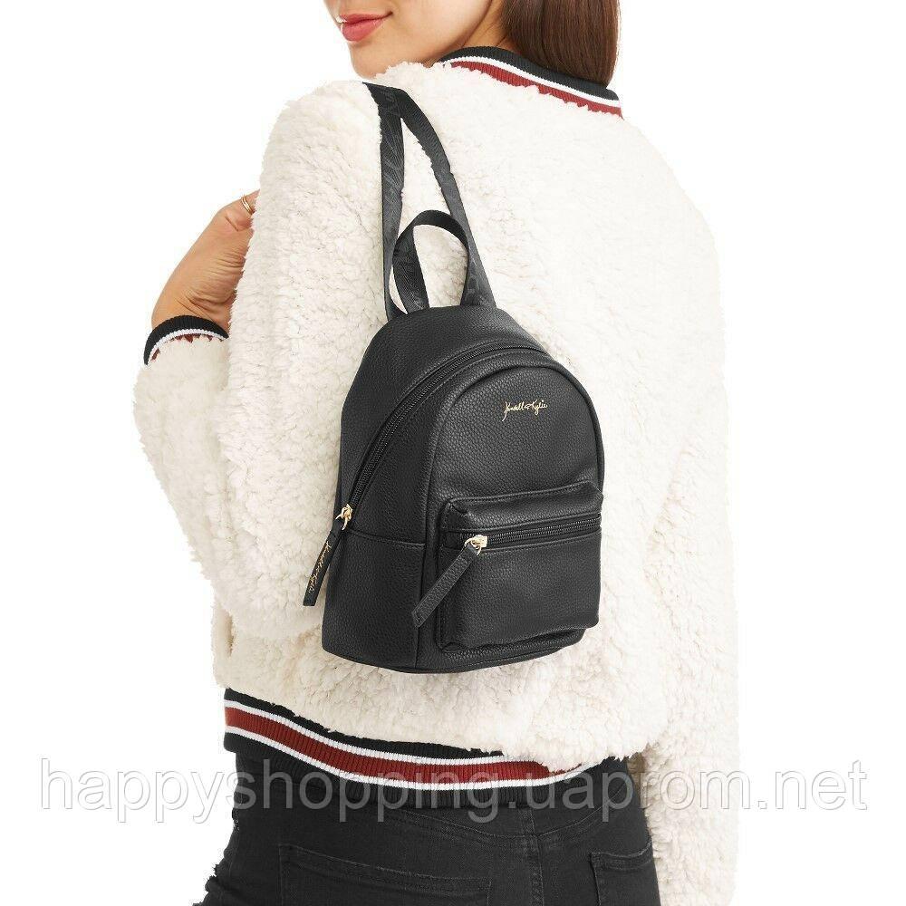 Женский стильный черный рюкзак KENDALL + KYLIE