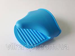 Прихватка для горячего силиконовая Прихват для сковороды Кухонные рукавицы прихватки грелки для чайников