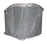 Беседка-альтанка с москитным шатром