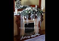 Рождественская флористика, новогоднее оформление квартир, домов,  новогодней елки
