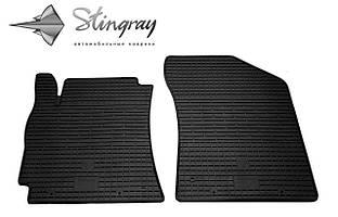 Geely MK 2006- Комплект из 2-х ковриков Черный в салон