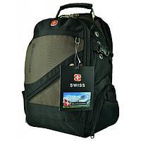Рюкзак Wenger SwissGear 8810 с USB и AUX Brown