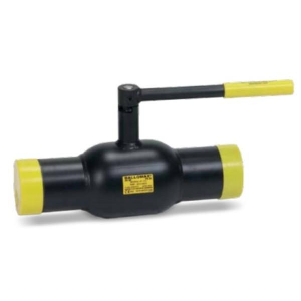 Кран шаровый стальной приварной стандартнопроходной КШЦП Ру40 Ду40