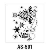Трафарет AS-501, 30х21см