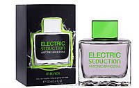 Мужские духи Electric Seduction in Black Antonio Banderas men edt 100ml реплика