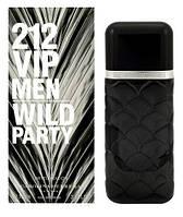 Мужские духи - Carolina Herrera 212 VIP Wild Party Ltd. (edp 100ml реплика)