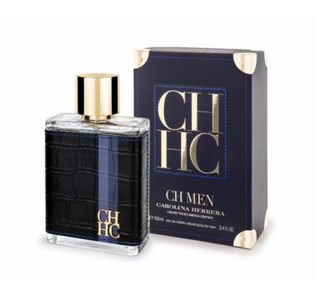 Мужские духи - Carolina Herrera CH Men Grand Tour (edt 100ml реплика)