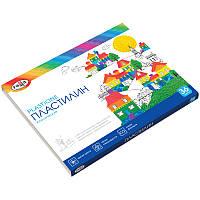 Пластилин детский 36 цветов Классический ГАММА