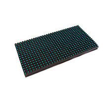 LED дисплей P10GO 16X32 модуль зеленый для уличного применения