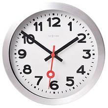 "Часы настенные ""Station Number"" белые  Ø19 см"