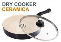 Антипригарная, тефлоновая сковорода жароварка Dry Cooker (Драй Кукер)