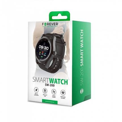 Умные часы Forever Smart Watch SIM SW-200 black, фото 2
