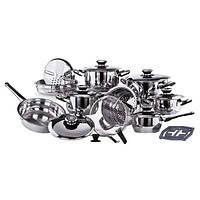 Набор кухонной посуды Grand Cuisine 25 пр Vinzer VZ-89025