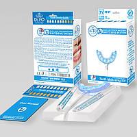 Система для домашнего отбеливания зубов dr.FO USA LED  отбеливающая лампа, два геля и инструкция
