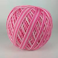 Ярнарт Лили Меланж 50г/225м 377 меланж розовый