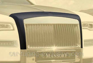 MANSORY front grill frame for Rolls-Roys Wraith
